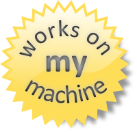 works on my machine certificate